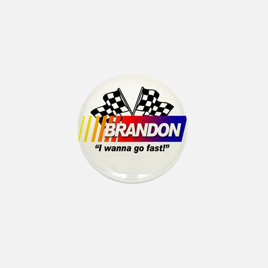 Racing - Brandon Mini Button