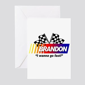 Racing - Brandon Greeting Cards (Pk of 10)