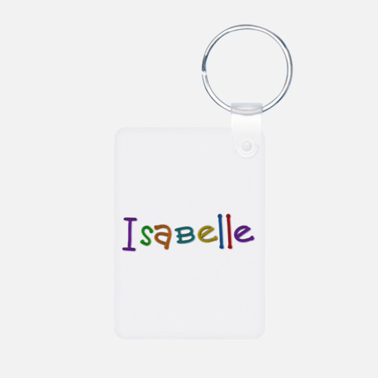 Isabelle Play Clay Aluminum Keychain