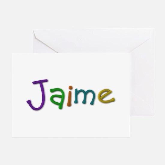 Jaime Play Clay Greeting Card