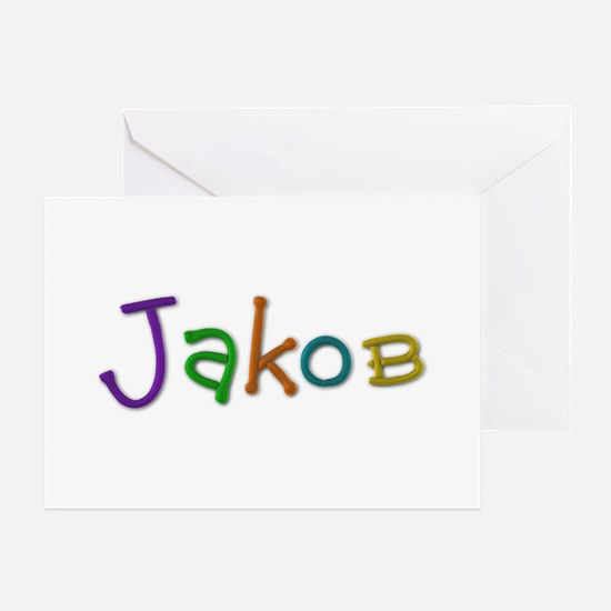Jakob Play Clay Greeting Card