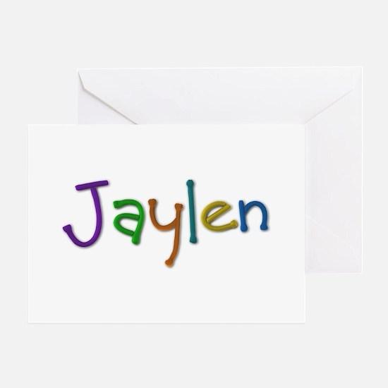 Jaylen Play Clay Greeting Card