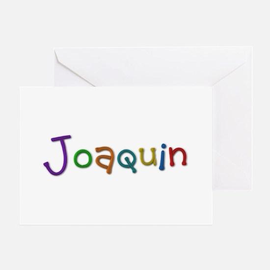 Joaquin Play Clay Greeting Card