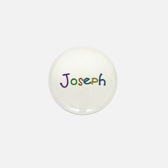 Joseph Play Clay Mini Button