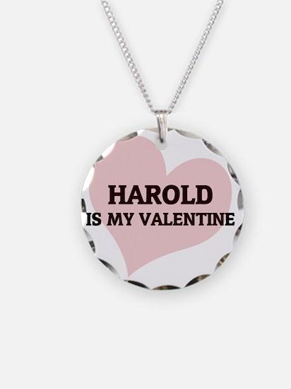 HAROLD Necklace Circle Charm