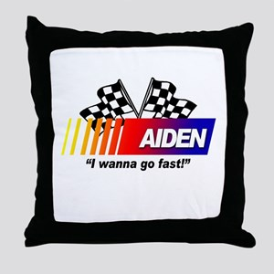 Racing - Aiden Throw Pillow