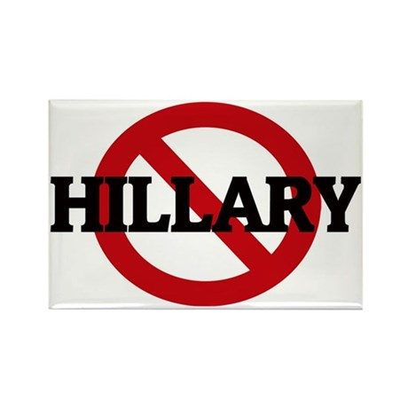 HILLARY Rectangle Magnet