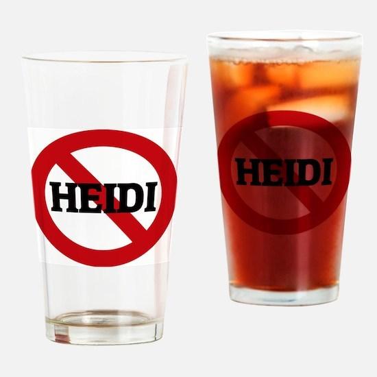 HEIDI Drinking Glass