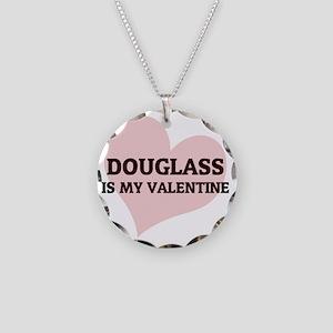 DOUGLASS Necklace Circle Charm
