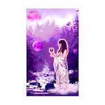'Moon Goddess' Rectangle Sticker
