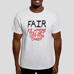 Fair is cotton candy Light T-Shirt