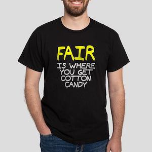 Fair is cotton candy Dark T-Shirt