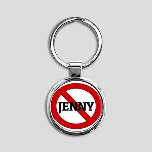 JENNY Round Keychain
