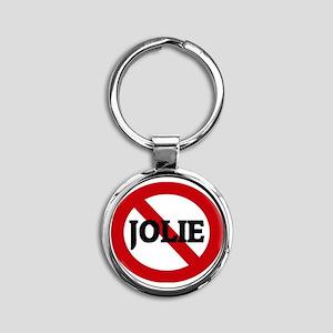 JOLIE Round Keychain