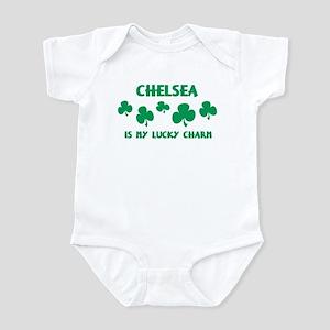 Chelsea is my lucky charm Infant Bodysuit
