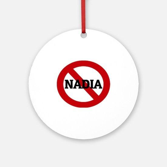 NADIA Round Ornament