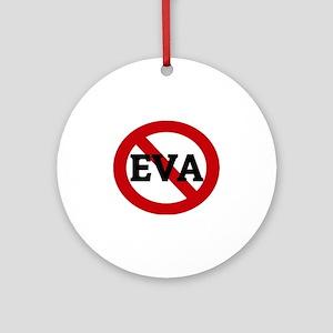EVA Round Ornament