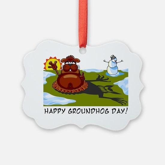 groundhogday1 Ornament