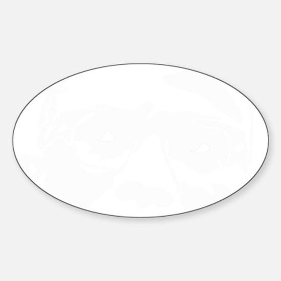 malcomfacetrans Sticker (Oval)