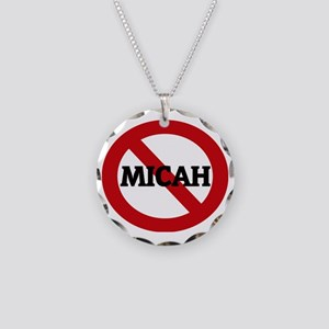 MICAH Necklace Circle Charm