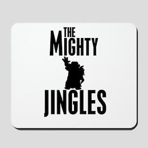 The Mighty Jingles Logo Mousepad