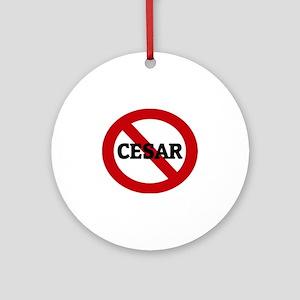 CESAR Round Ornament