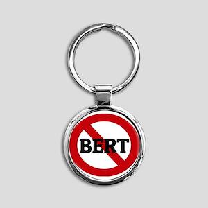 BERT Round Keychain