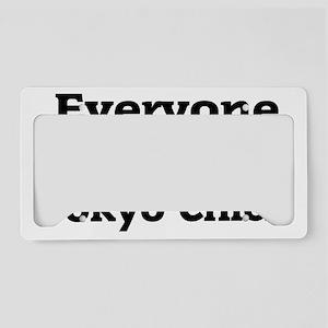 everyonechickss License Plate Holder