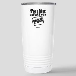 Think Outside The Fox Travel Mug