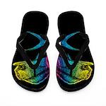 Rainbow Mahi Mahi Flip Flops