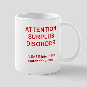 Attention Surplus Disorder Mug