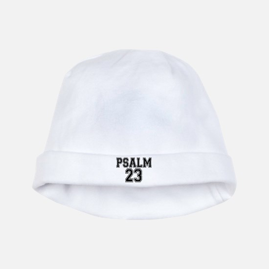 Psalm 23 Bible Verse baby hat
