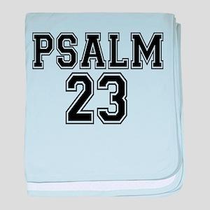 Psalm 23 Bible Verse baby blanket