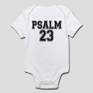 Psalm 23 Bible Verse Infant Bodysuit