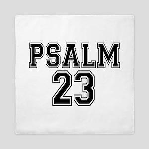 Psalm 23 Bible Verse Queen Duvet