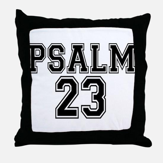 Psalm 23 Bible Verse Throw Pillow