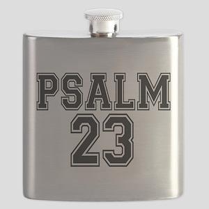 Psalm 23 Bible Verse Flask