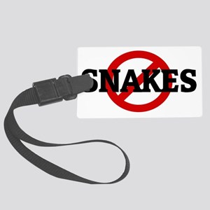 SNAKES Large Luggage Tag
