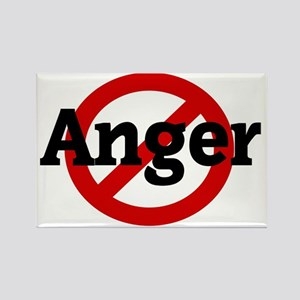 Anger Rectangle Magnet