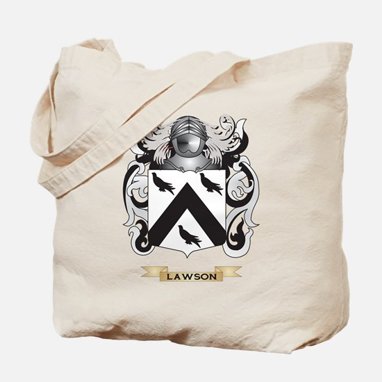 Lawson Coat of Arms - Family Crest Tote Bag