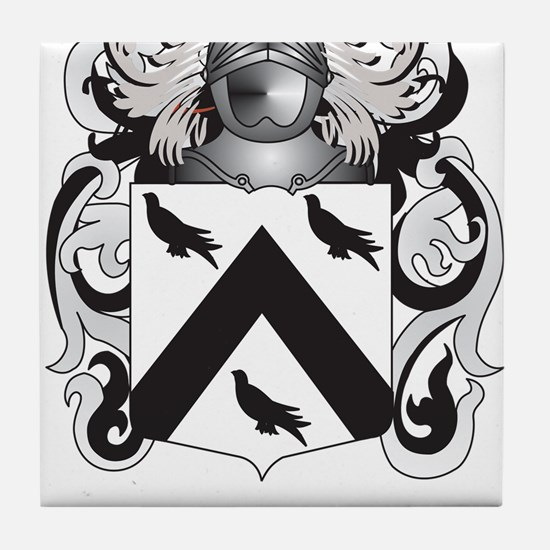 Lawson Coat of Arms - Family Crest Tile Coaster