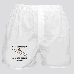I've Got A Trombone Boxer Shorts