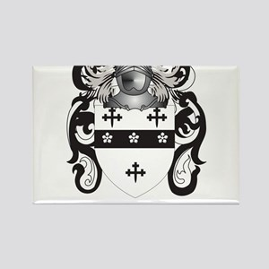 Lawton Coat of Arms - Family Crest Rectangle Magne