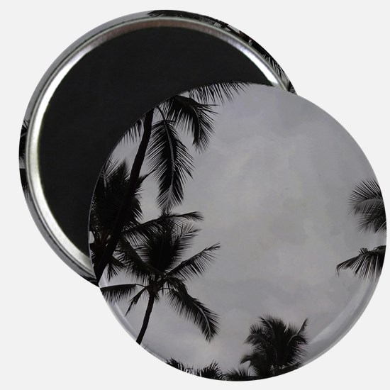 Palm Trees Sillouette Magnet