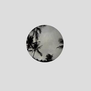 Palm Trees Sillouette Mini Button