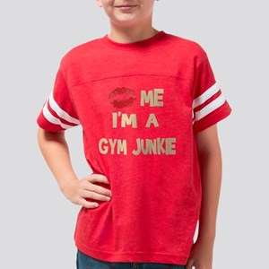 kissgymjunkie-trans1 Youth Football Shirt