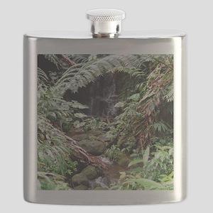 Rainforest Waterfall Flask