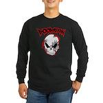 DOOMBXNY LOGO Long Sleeve Dark T-Shirt