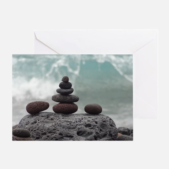 Ocean Serenity Greeting Card