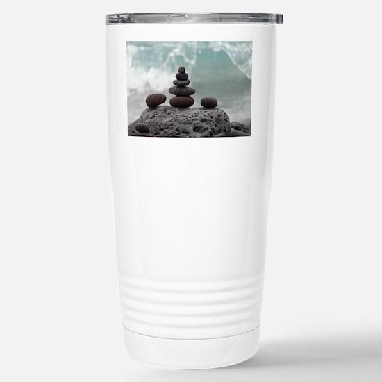 Ocean Serenity Stainless Steel Travel Mug